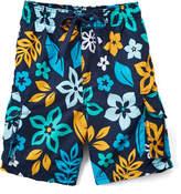 Kanu Surf Navy Revival Floral Boardshorts - Toddler & Boys