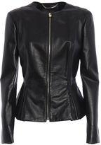 Philipp Plein Leather Jacket Paris Bound