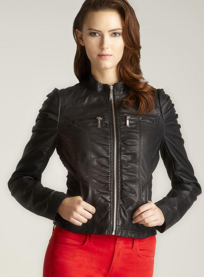 Joujou Jou Jou Embellished Shoulder Zipper jacket