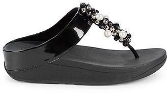 FitFlop Deco Embellished Wedge Sandals