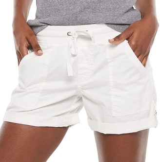 Women's SONOMA Goods for Life Elastic-Waist Roll-Tab Utility Shorts