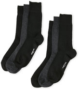 Kenneth Cole 6-Pack Solid Crew Socks