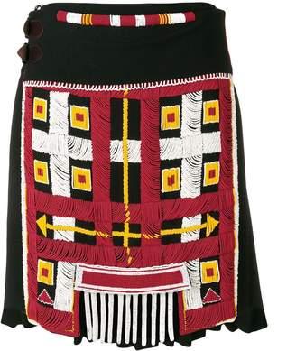 Jean Paul Gaultier Pre Owned 1999 Le 3e Millenaire Sera Amour beaded skirt