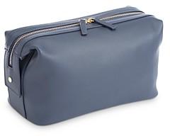 Royce New York Executive Leather Toiletry Bag