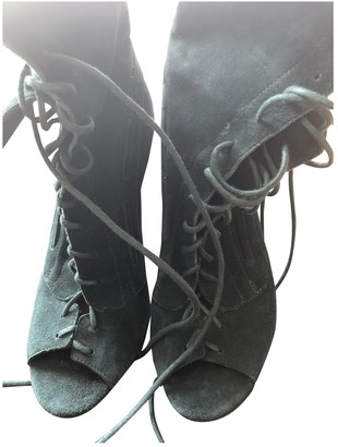 Jerome Dreyfuss Green Leather Boots