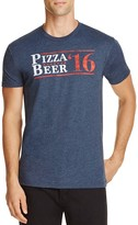 Kid Dangerous Pizza Beer Campaign Graphic Tee