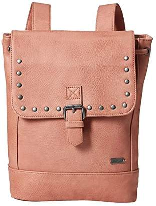 Roxy Same Dreams Extra-Small Faux-Leather Backpack