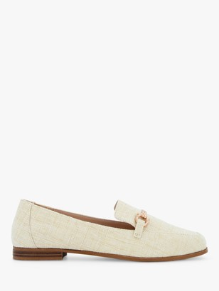 Head Over Heels Gahad Fabric Loafers, Canvas
