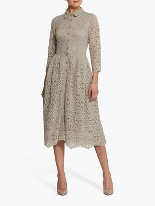 BEIGE Helen Mcalinden Helen McAlinden Sonia Mink Shirt Dress, Neutral