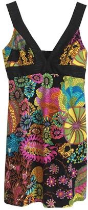 Trina Turk Black Cotton Dress for Women
