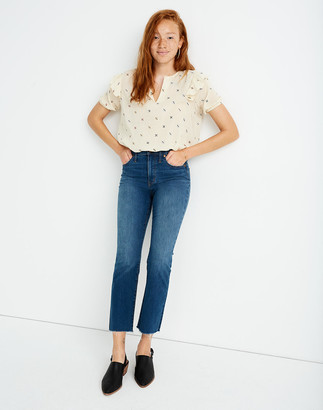 Madewell Cali Demi-Boot Jeans in Preston Wash: Raw-Hem Edition