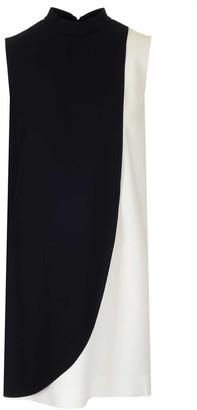Givenchy Two-Tone Sleeveless Mini Dress