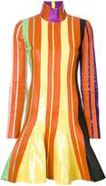 J.W.Anderson sequin stripe detail dress