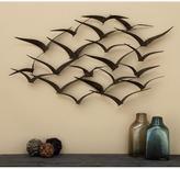 AMERICAN HOME in Flight 47 in. Flock of Birds Metal Wall Sculpture