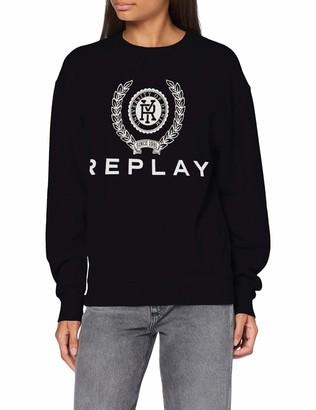 Replay Women's W3153c.000.22890cs Sweatshirt