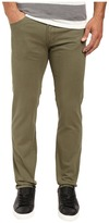 U.S. Polo Assn. Corduroy Skinny Fit Five-Pocket Jeans in Olive Dusk
