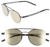 Le Specs Women's 'Spartan' 51Mm Aviator Sunglasses - Matte Black