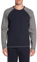 Majestic International Men's Trey Long Sleeve Raglan T-Shirt