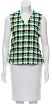 Creatures of the Wind Plaid Sleeveless Top