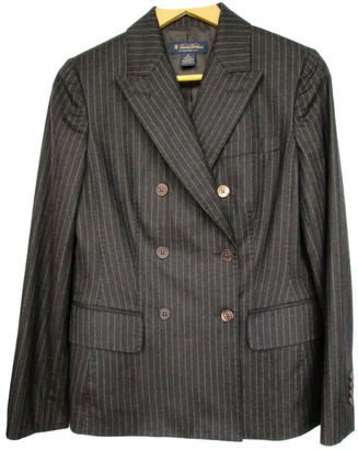 Brooks Brothers Brown Wool Jacket for Women