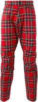 G Star G-Star - checked tapered pants - men - Cotton/Polyester - 31