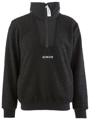 Avnier Black Fleece sweater