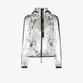 Paco Rabanne metallic logo track jacket