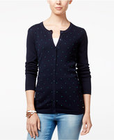 Tommy Hilfiger Kelly Dot-Detail Cardigan