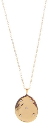 Cvc Stones Z14 Diamond & 18kt Gold Pendant Necklace - Gold