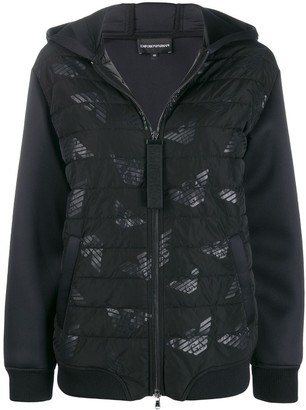 EA7 Emporio Armani Hooded Padded Jacket