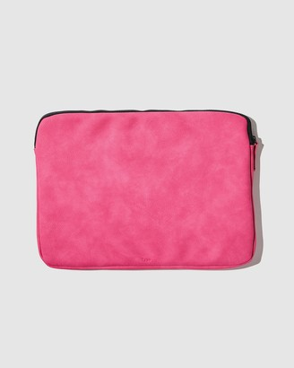 Typo - Women's Pink Laptop Cases - Core Laptop Cover 13 Inch - Size One Size at The Iconic