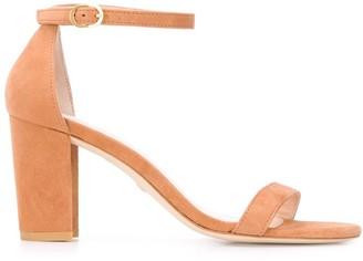 Stuart Weitzman Nearly Nude chunky-heel sandals