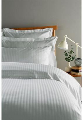 Christy Sateen Stripe Flat Sheet