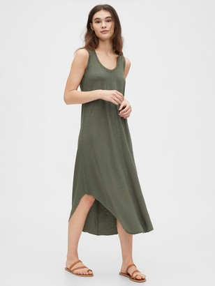 Gap Scoopneck Midi Dress