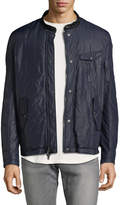 John Varvatos Men's Quilted Racer Jacket