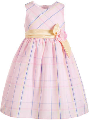 Good Lad Little Girls Plaid Taffeta Dress