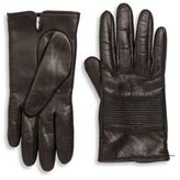 Portolano Leather Stitched Palm Patch Gloves