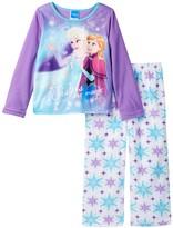 AME Frozen Elsa & Anna Sisters Are Magic Fleece PJ Set (Little Girls & Big Girls)