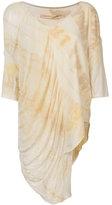 Raquel Allegra floral print top - women - Cotton/Polyester - 0