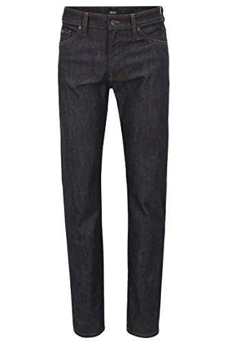 BOSS Men's Maine Bc-c Straight Jeans, Dark Blue 408, W38/L32