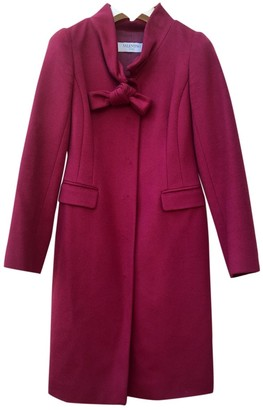 Valentino Red Cashmere Coat for Women