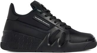 Giuseppe Zanotti Talon leather low-top sneakers