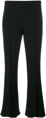 Marco De Vincenzo pleated detail cropped trousers