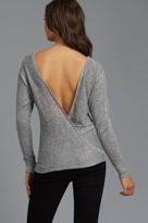 Dynamite Wrap Dolman Sleeve Sweater