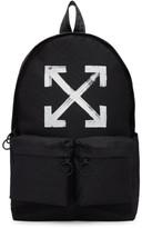Off-White Black Brushed Backpack