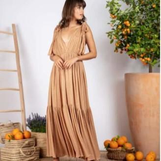 SUNDRESS Fanya Long Dress Canyon - XS/S