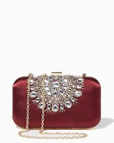 Charming charlie Laced Gem Minaudiere