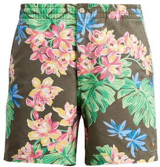 Polo Ralph Lauren Classic Fit Polo Prepster Tropical-Print Shorts