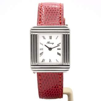 Poiray Ma Premiere Red Steel Watches