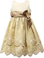 Jayne Copeland Embroidered Tulle Dress, Little Girls
